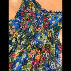 Abercrombie & Fitch Dresses - Abercrombie & Fitch Fall Colors 3 Tier Dress  XS